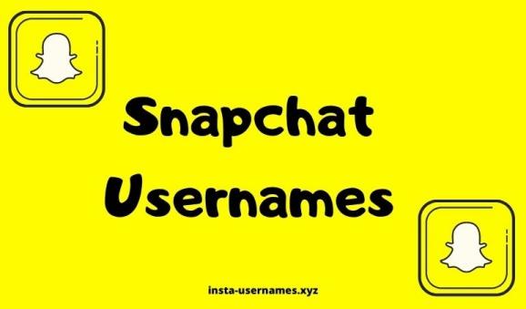 To use usernames snapchat 500+ Snapchat