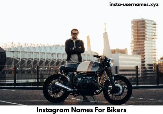 Instagram Names For Bikers