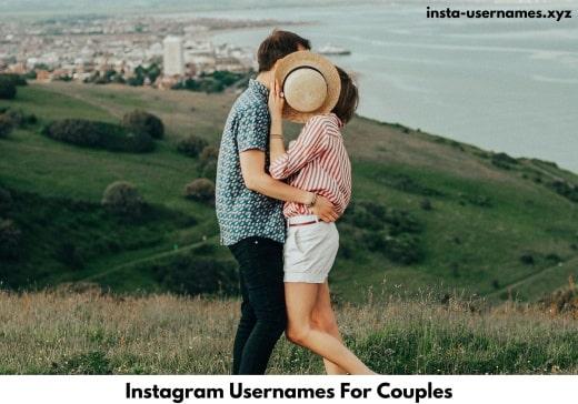 Instagram Usernames For Couples