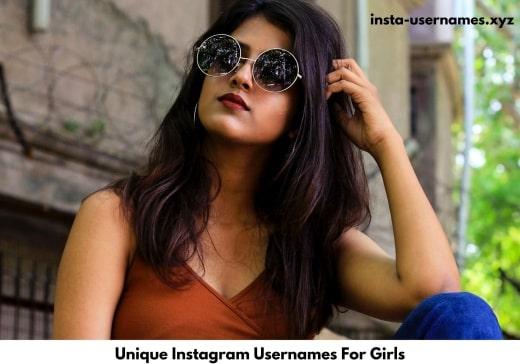 Unique Instagram Usernames For Girls