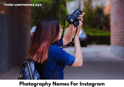 Photography Names For Instagram